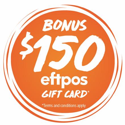 SONY | Bonus eftpos Gift Card