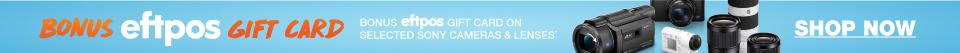 SONY Bonus eftpos Gift Card