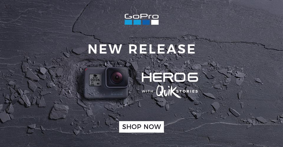 Shop Now - GoPro Hero6 Black New Release