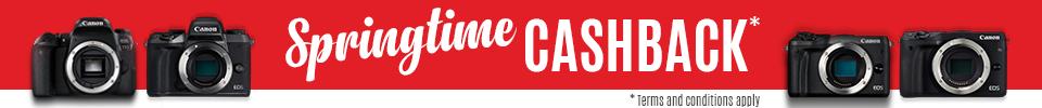 Canon Springtime Cashback at Videopro