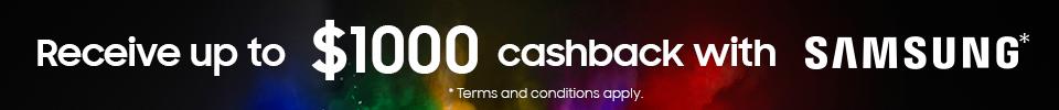 Samsung QLED Cashback